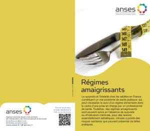 recommandations en cas de régimes amincissants